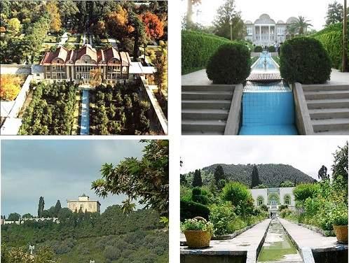 دانلود پاورپوینت بررسی رابطه انسان و طبیعت باغ های ایرانی