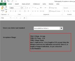 دانلود فایل مقایسه حد پذیرش عیوب جوش در ASME و API